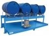 Fass-Abfüllstation für 4 Fässer