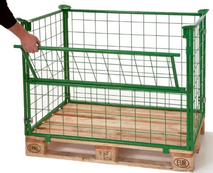gitterboxen aktuelle informationen zur innerbetrieblichen logistik lagertechnik. Black Bedroom Furniture Sets. Home Design Ideas