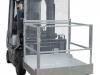 Arbeitskorb / Sicherheitskorb faltbar - aufgebauter Zustand