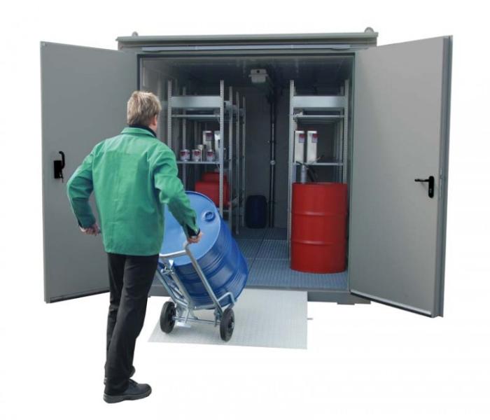Brandschutz-Container - die Top-Modelle sind begehbar