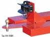 Stapler-Rangierhilfe mit Rockingerkupplung und Kugelkopfkupplung