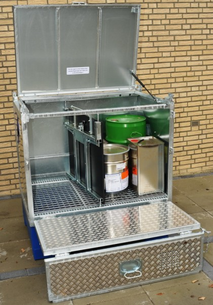 Mobile Gefahrstoff-Depots Typ Go Store-Box