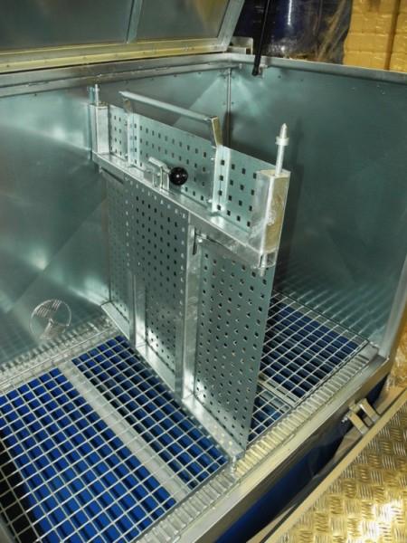 Mobile Gefahrstoff-Depots Typ Go Store-Box mit Ladungssicherung