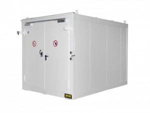 Brandschutzcontainer der Schutzklasse F90
