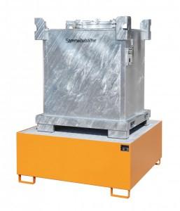 Stahl-Auffangwanne für IBC-Container