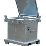 Berge-Behälter vom TYP SAG 800 für ein 200-Liter Fass