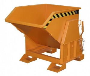 Abroll-Kippbehälter BK für Stapler mit