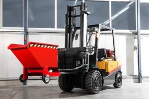 Kastenwagen Typ RKW  für den multimodalen Transport