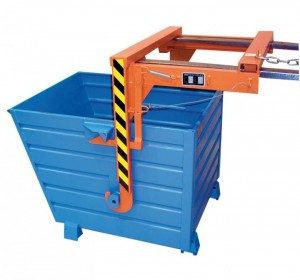 Stapelkipper BSK-70 / Abfallbehälter