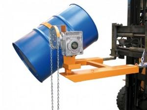 Fasskipper FD/K mit hydraulischem Kippmechanismus